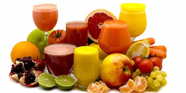 zumos curativos, depurativos y nutritivos