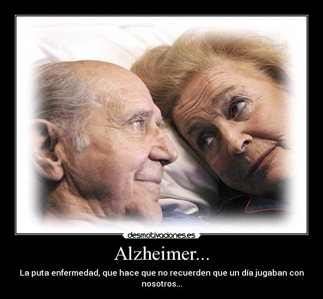 alzheimer en los ancianos