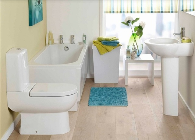 Organizacion Baño Pequeno:Small Bathroom Design Ideas