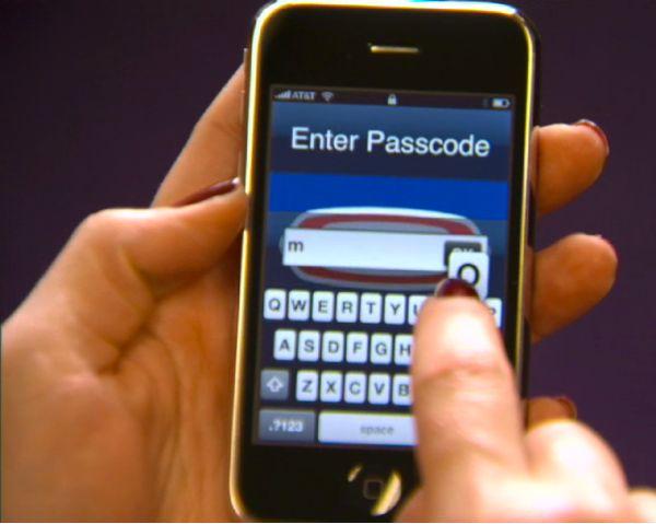 acceder a iphone con contraseña