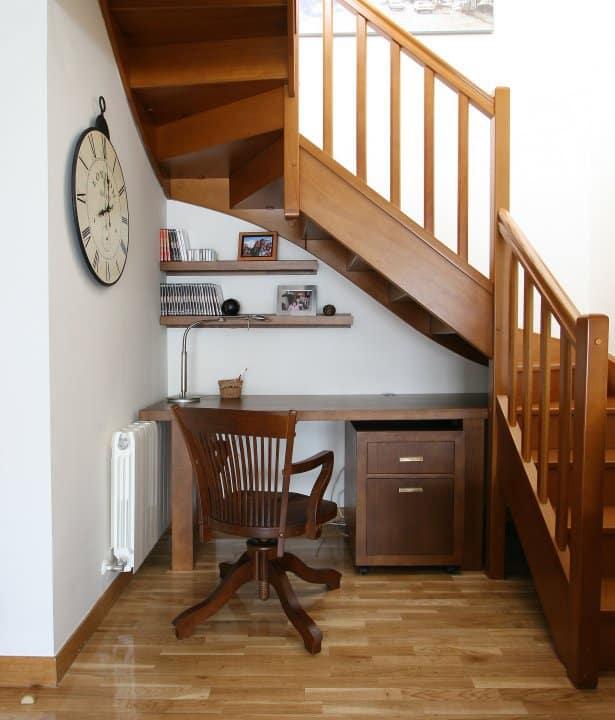Ideas para aprovechar el hueco bajo las escaleras - Huecos de escalera ...