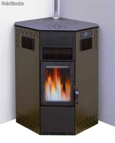 Caracter sticas y ventajas de las estufas de biomasa - Estufas de lena y pellets ...