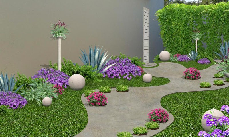 Sencillos tips de decoraci n de jardines for Palmeras decorativas exterior
