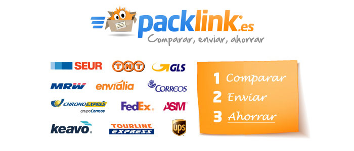 packlink envios de paquetes por mensajeria nacional e internacional
