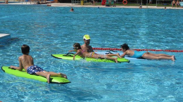 baños en piscinas, ocio y entretenimiento
