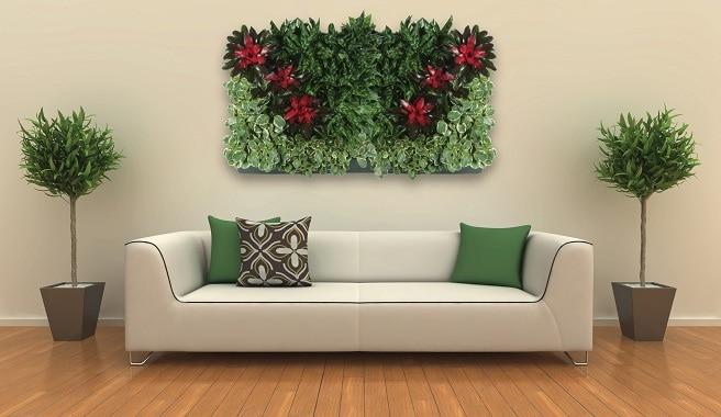 Plantas de interior que te quitan el estr s for Plantas verticales de interior