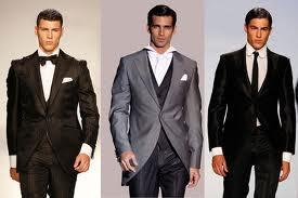 Ropa elegante de vestir para caballeros