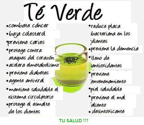 mejora la salud con el te verde