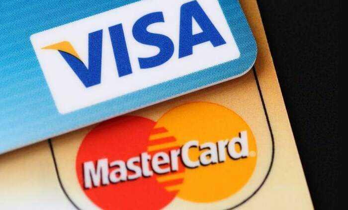 visa y mastercard para cuentas bancarias